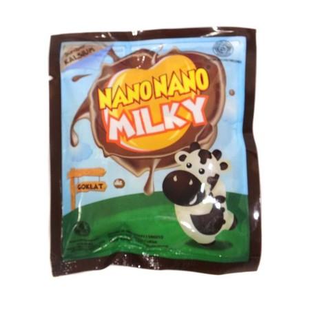 Permen susu rasa coklat dengan kandungan Kalsium yang baik untuk anak-anak.