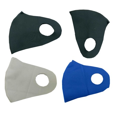 Masker kain scuba penangkal debu warna random stock toko