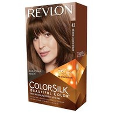 This specially blended, permanent hair-color formula includes our Revlon 3D Color Gel Technology, which delivers rich, multi-dimensional color thats both natural looking and long lasting Now enriched with keratin and silk amino acid, ColorSilks ammonia
