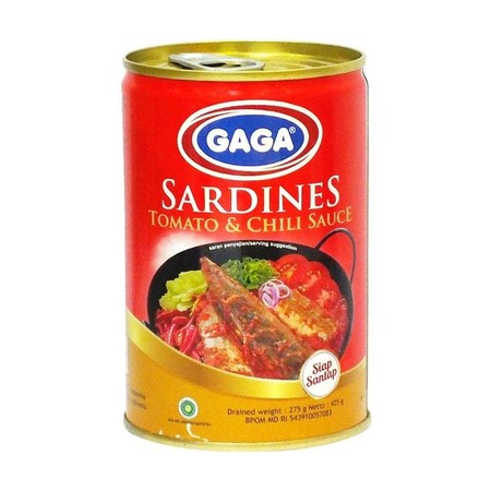 Sarden Tomato Chili Merupakan Sarden Dalam Kaleng Yang Berkualitas. Terbuat Dari Ikan Sarden Segar Yang Diolah Dengan Berbagai Bumbu Khas Pilihan. Sarden Ini Memiliki Kandungan Omega 3, Vitamin D Dan Kalsium.