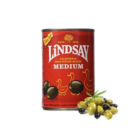 Lindsay Olives Pitted Ripe Large 6oz merupakan acar buah zaitun siap olah. Dapat langsung disantap sebagai salad atu dapat juga dicampurkan sebagai masakan. Kualitasnya terjaga dan wadahnya praktis sehingga mudah disimpan kembali setelah dipakai.