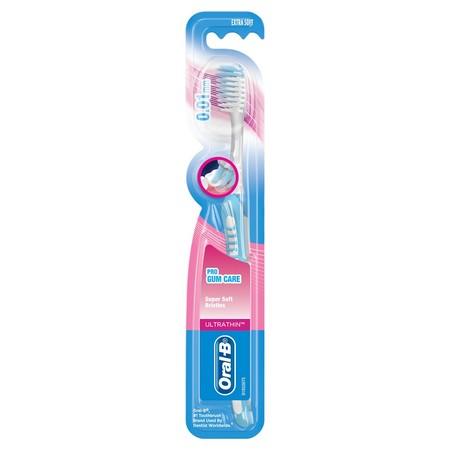 Sikat gigi yang memiliki Ujung bulu sikat <0.01 mm yang didesain untuk dapat membersihkan gigi hingga sampai kedalam. Ujung sikat ramping dan 2x lebih fleksibel. Bulu sikat Utrathin dapat menjangkau ke sela-sela gigi hingga 2x lebih dalam dibandingkan bul