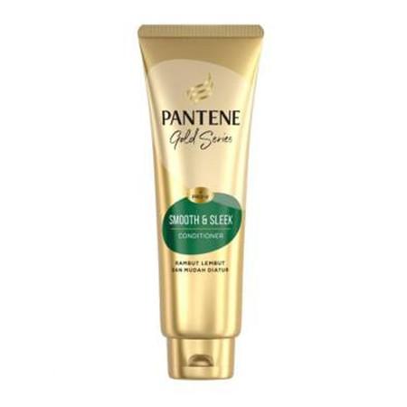 PANTENE Gold Series Conditioner Smooth & Sleek Pro-V 190ml merupakan conditioner rambut yang di rancang khusus untuk membantu rambut lembut sepanjang hari. Conditioner ini menjaga kekuatan rambut sehingga rambut fleksibel dan tidak mudah patah. Selain itu