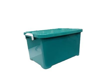 Dimensi 57.9 x 28.8 x 30 cm Kapasitas 55 ltr Warna hijau/biru