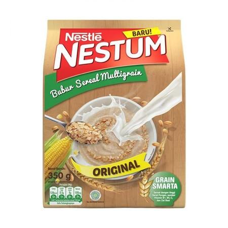 Nestle Nestum Ori 350 G Adalah Bubur Sereal Sarapan Bergizi Yang Terbuat Dari Multigrain Atau Multiserealia Alami. Terdiri Dari Gandum Utuh, Beras Dan Jagung. Dengan Lebih Banyak Sereal, Memberi Rasa Kenyang Lebih Lama. Nestle Nestum Juga Mengandung Grain