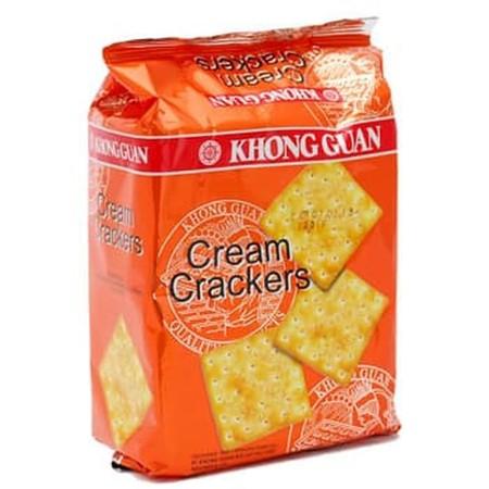 Merupakan Biskuit Cracker Yang Yang Sangat Renyah Dan Enak. Cocok Dinikmati Saat Kumpul Bersama Keluarga.