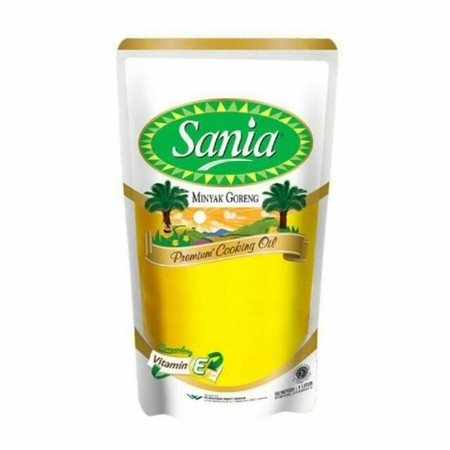 Contains Omega-9 Cleaner, Heats Up Faster, And Resists Heat Processed Under The Supervision Of Experienced Experts  Sania Edible Oil [Refill / 1 Liter] Is A Cooking Oil Made From Selected Ingredients And Has A Color Of Carelessness Derived From Natural Be