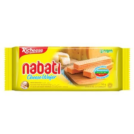 Nabati Wafer adalah Wafer renyah dan ringan dengan krim yang sangat terasa