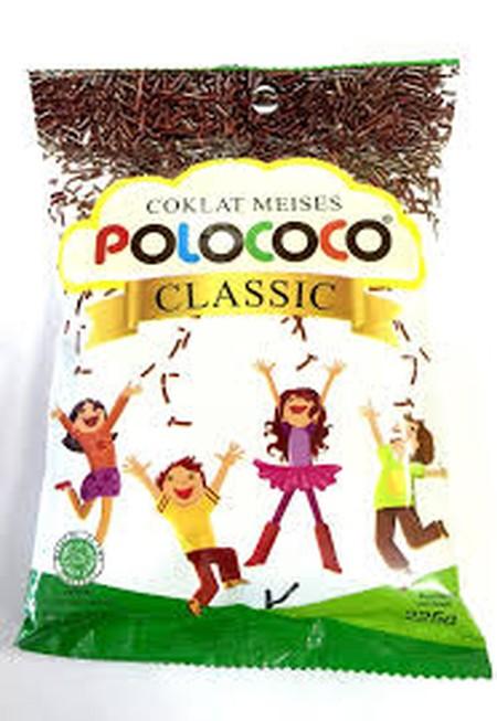 Deskripsi Produk Merek : Polococoa Jenis : Classic Meses Toples Isi : 225Gr Nikmati Kelezatan Meses Polococoa Terbuat Dari Bahan Cocoa Yang Berkualitas. Cocok Dimakan Bersama Roti, Bahan Kue Dan Bahan Dasar Lainnya