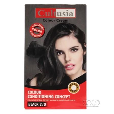 Krim Pewarna Rambut yang dilengkapi dengan kondisioner untuk melindungi warna rambut dan mengurangi dari kerusakan dan kering. Dengan pilihan warna yang sesuai menjadikan warna rambut anda lebih indah, lembut dan berkilau dengan mudah dan cepat. Untuk has