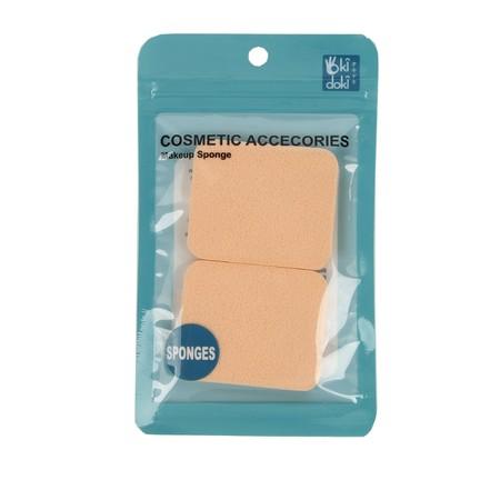 Spone lembut di wajah untuk fondation & powder  Brand: OKIDOKI Color: Nude Material: Sponge Product Size: 5.5X0.7X4.5CM