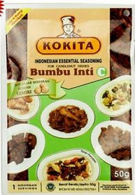 Kokita Is Committed To Providing The Specialized Ingredients And Essential Sauces Required To Enjoy The Authentic Flavors Of The Finest Indonesian Cuisine.  Kokita Essential Seasoning C (Bumbu Inti C Kokita) For Candlenut Dishes Is An Essential Seasoning