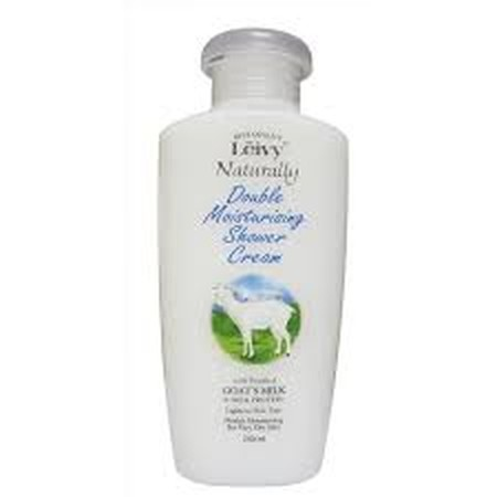 Leivy Shower Cream merupakan sabun cair dengan double moisturising with purified goat's milk dan milk protein
