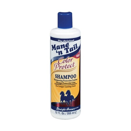 Mane N Tail Shampoo Color Protect benefits: -Helps maintain color treatments longer (when used before the NEW Color Protect Conditioner as a complete hair care system) -Proven color hold until next treatment (usually 6-8 weeks) -Keeps its vibrancy, body a