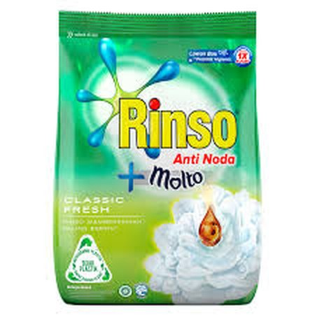 Rinso Anti Noda Baru! Dengan Formula Efektifnya, Cepat Menghilangkan Noda Membandel Hanya Dengan 1X Kucek!