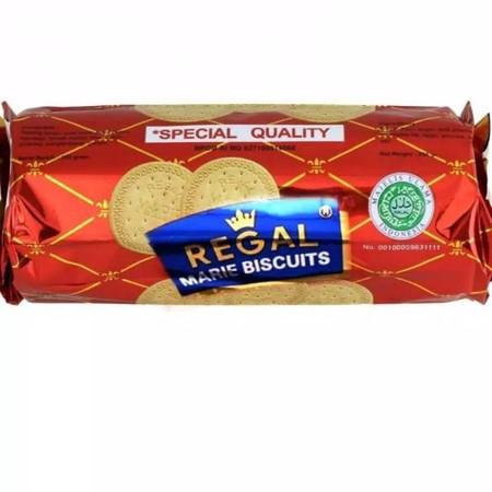 Untuk penggemar biskuit Marie Regal dengan cita rasa susu dan mentega yang lebih banyak. Aroma susu dan mentega yang tidak bisa dilawan oleh produk lain.