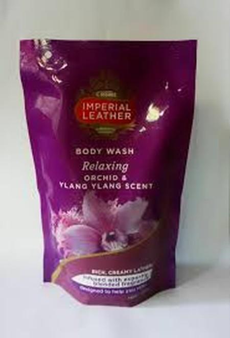 Dengan keharuman mewah yang tahan lama Orchid & Ylang Ylang scent, Cussons Imperial Leather Body Wash Relaxing setia menjaga kelembaban kulit Anda sekeluarga.  Diperkaya dengan kandungan Triple Moisturising Complex (Glycerine, Lactic Acid dan Polyquarteni