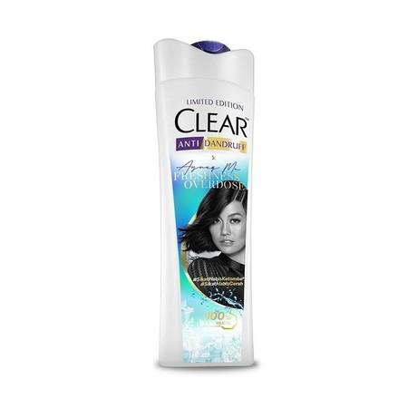 Clear shampoo anti dandruff freshness overdose dengan triple anti dandruff technology mengandung vitamin B3 dan komponen protein. Menghilangkan, melawan dan mencegah dari ketombe. Sikat habis ketombe.
