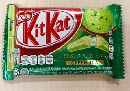 KitKat cokelat teh hijau dan wafer. Dibuat dari biji kakao pilihan dan formula spesial, lapisan coklatnya lembut dan lumer di mulut. Ditambah wafer renyah di dalamnya, KIT KAT Bites bikin Kamu ketagihan nge-Break! Setiap gigitan menawarkan sensasi Break y