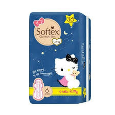 Softex Comfort Slim 36 cm is a slim-type sanitary napkins with the ability to absorb 1 second for dry surface, hypoallergenic & less odor system. With a wider rear area, that will make your heavy flow period more comfortable. No Worry to say Good night