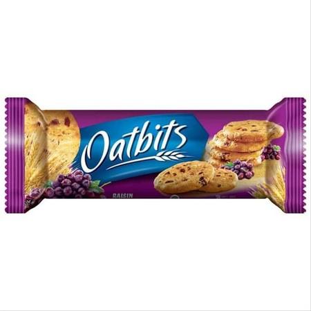 Biskuit Oat varian Raisin yang dibuat dari kombinasi oat dan Raisin yang memiliki kandungan yang bermanfaat bagi tubuh. Oat yang kaya serat dikenal sebagai salah satu pilihan dalam memilih makanan sehat, yang membantu melancarkan pencernaan