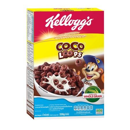 Kelloggs Coco Loops Merupakan Sereal Yang Terbuat Dari Gandum Utuh Pilihan Dengan Kualitas Terbaik. Dilengkapi Dengan Banyak Serat, Protein, Vitamin B Dan Karbohidrat Untuk Memberikan Energi Saat Anda Sedang Memulai Aktifitas Sehari-Hari. Memiliki Rasa Ya