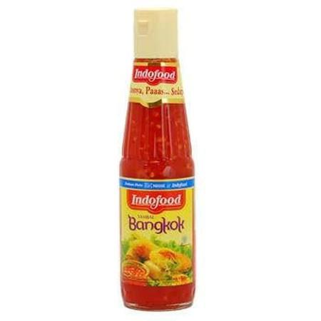 Sambal Bangkok Indofood Terbuat Dari Cabai Rawit Merah Asli, Segar, Dan Tanpa Bahan Pewarna. Terbukti Halal Dan Memiliki Sertifikat Bpom. Diproses Secara Modern Dan Higienis Dengan Standard Food Safety Nestle Dan Indofood Yang Ketat. Dengan Proses Produks