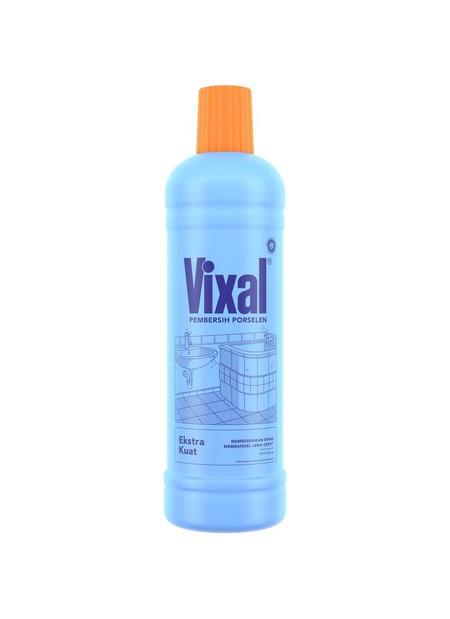 Vixal Adalah Cairan Pembersih Porselen Yang Dapat Menghilangkan Dengan Cepat Segala Noda Pada Toilet, Permukaan Porselen, Keramik, Mosaik Dan Sejenisnya. Dengan Bahan Aktif Asamnya (Hcl), Vixal Mampu Mengembalikan Permukaan Bersih Mengkilap Permukaan Toil