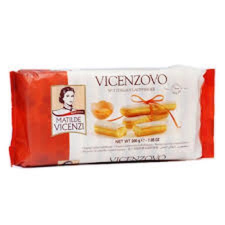 Kukis ladyfinger asi dari Itali, disiapkan dengan telur segar dan tepung terbaik untuk memberikan rasa sempurna.