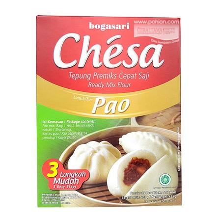 Chesa Pao dibuat khusus untuk Anda yang suka makan pao dan ingin mengkreasikannya sendiri sesuai dengan selera dan kreativitas anda, membuat Pao tak lagi sulit dengan Chesa Pao