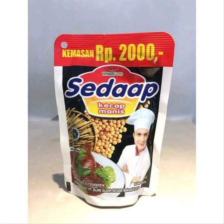 Sedaap sweet soy sauce uses natural, high quality soy beans that undergo the natural fermentation and triple filtration process, and packaged in clean and hygenic conditions.