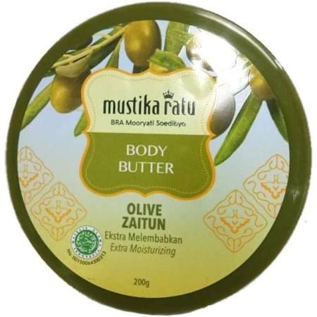Body butter yang Terbuat dari bahan-bahan alami dan mengandung vitamin yang dapat menjaga kelembapan kulit.