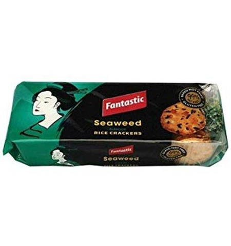 Fantastic Crackers Are An Irresistible Snack Which Can Be Enjoyed Anytime, Anywhere. Delicious On Their Own, Or With A Tasty Dip Or Topping, You Know You Can Rely On Fantastic To Satisfy Any Snacking Moment. Seaweed Flavoured Rice Crackers Are Vegetarian