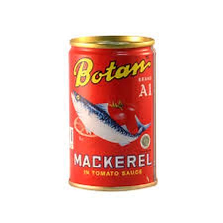 Botan Mackerel Kaleng 425G Adalah Makanan Kaleng Ikan Sarden Yang Kaya Akan Manfaat. Sarden Kaleng Botan Ini Diperkaya Dengan Omega 3, Kalsium, Iron, Protein, Yodium, Dan Vitamin A, C, D, E, Dan K. Sarden Dalam Kaleng Ini Dihasilkan Dari Proses Yang Baik