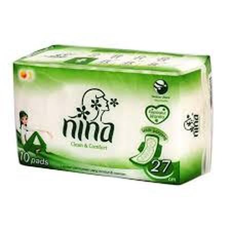 Bagus Nina Night Wing adalah pembalut wanita yang memiliki daya serap extra, sehingga menjaga anda tetap percaya diri dan terasa nyaman saat digunakan. Ukuran Panjang : 27 cm Isi 10 sheet