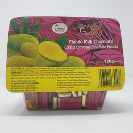 Coklat compound susu rasa mangga