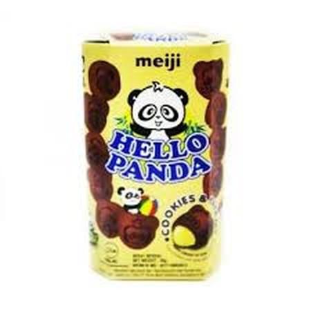 Meiji Hello Panda Chocolate Biskuit - 45gr merupakan biskuit dengan isi krim yang renyah dan nikmat, sehingga cocok untuk dinikmati setiap hari saat santai Anda bersama keluarga.
