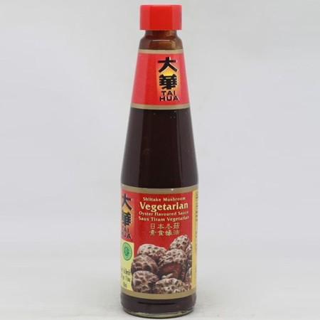 Tai Hua Vegetarian Oyster Sauce 430ml adalah saus tiram vegetarian yang cocok untuk digunakan sebagai pelengkap masakan. Terbuat dari bahan segar yang diproses secara alami dan higienis.