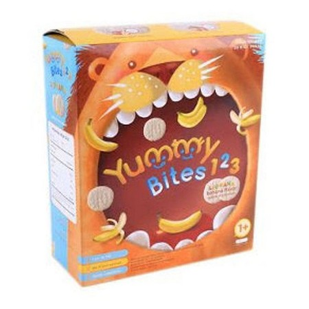 Yummy Bites 123 For The Little One Who Has Grown From Baby To Toddler. Fun And Tasty Snack For Your Toddler.