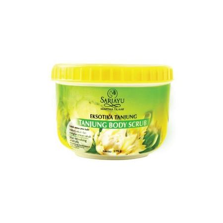 Sariayu Body Scrub merupakan body scrub yang dapat mengangkat sel kulit mati dan menjaga kelembapan kulit.