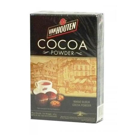 Van Houten Cocoa Powder Box 45gr merupakan coklat premium yang lezat. Sangat praktis untuk dikonsumsi dan memiliki nilai gizi yang tinggi.