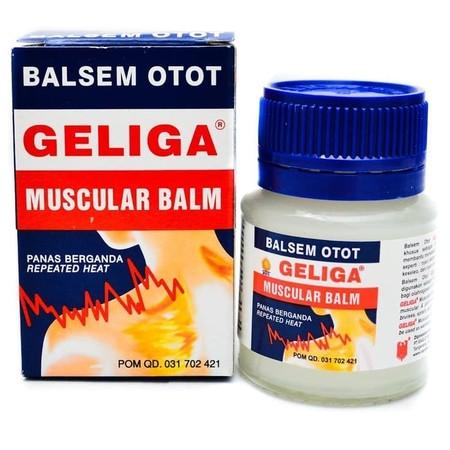 Balsem otot Geliga diformulasikan khusus sebagai obat gosok untuk membantu meredakan nyeri otot & sendi seperti : nyeri akibat pukulan/memar, keseleo & nyeri otot pada punggung.