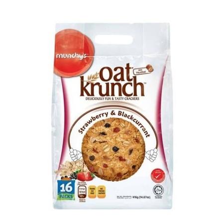 Biskuit oat rasa strawberry & blackcurrant