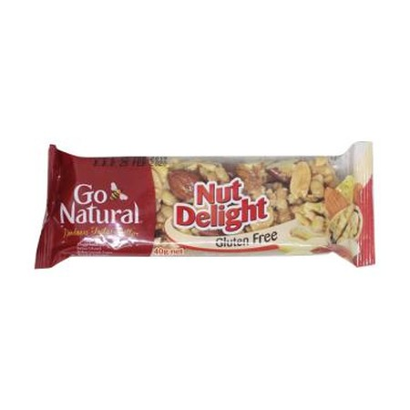 Nut Delight Energy Bar Is A Delightful Blend Of Nuts, Making This Bar Hard To Resist!