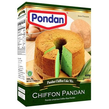 Bahan Premiks Untuk Membuat Chiffon Pandan