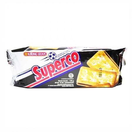 Superco Cream Choco Rasa Dengan Rasa Cokelat Yang Tebal, Dan Terdapat Taburan Gula.
