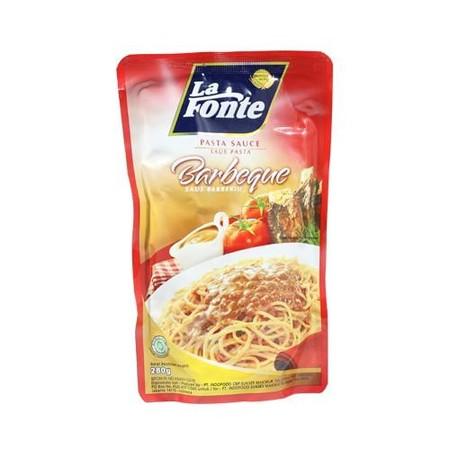 Terbuat dari tomat pilihan dan rempah bahan alami, dapat langsung disantap tanpa perlu dimasak atau ditambahkan bahan lain. Sangat cocok untuk dinikmati bersama La Fonte Regular Pasta. Tersedia 3 rasa:  Sauce Bolognaise ,tersedia dalam kemasan 315 gram