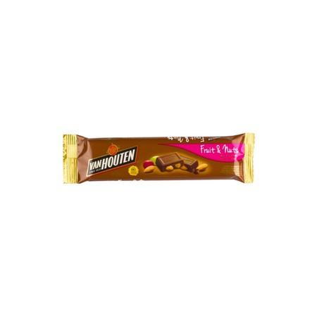 Van Houten Chuncky Fruit & Nut merupakan coklat premium yang lezat. Sangat praktis untuk dikonsumsi dan memiliki nilai gizi yang tinggi.