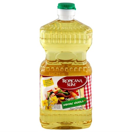 Tropicana Slim Canola Oil 946ml terbuat dari 100% biji Kanola pilihan, tinggi vitamin E (antioksidan), tinggi omega 3 dengan kandungan lemak jenuh paling rendah dibandingkan dengan minyak goreng lainnya ini membuat Tropicana Slim Minyak Kanola pilihan tep