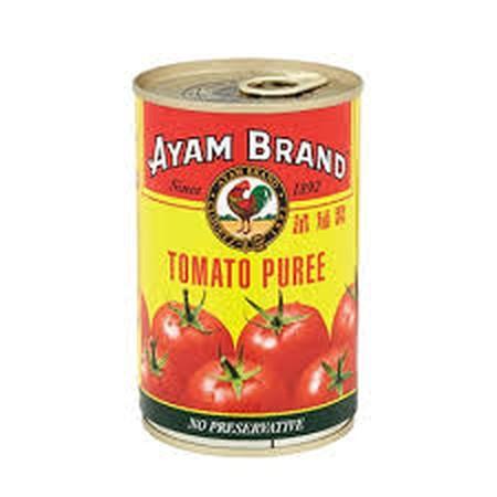 Ayam Brand Tomato Puree Without Preservative.